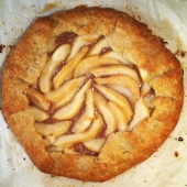 Pear galette using pears from my own tree.